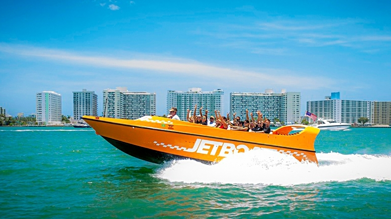 Speed Boat Ride Miami $29.99