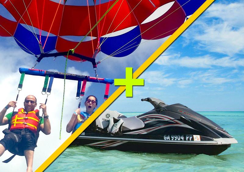 Parasailing + Jet Ski $149