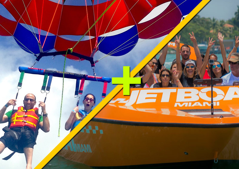 Parasailing + SpeedBoat Ride $89.99