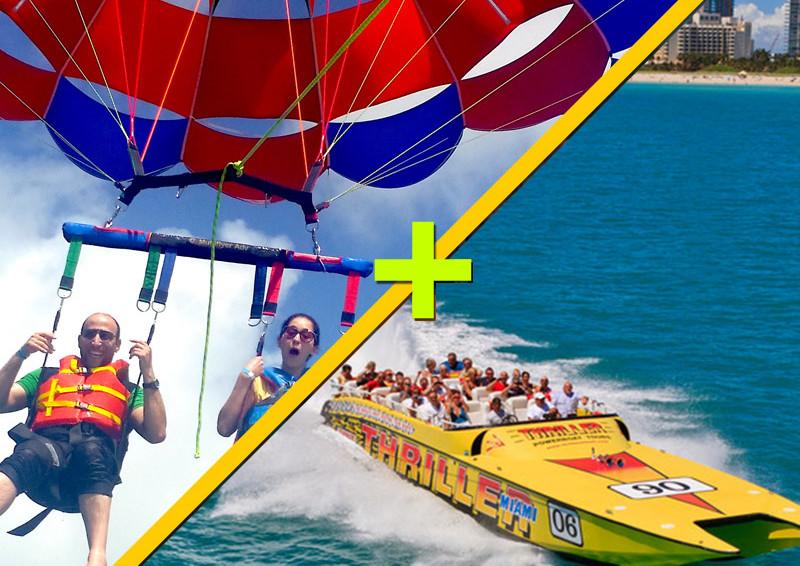 Parasailing + SpeedBoat $125